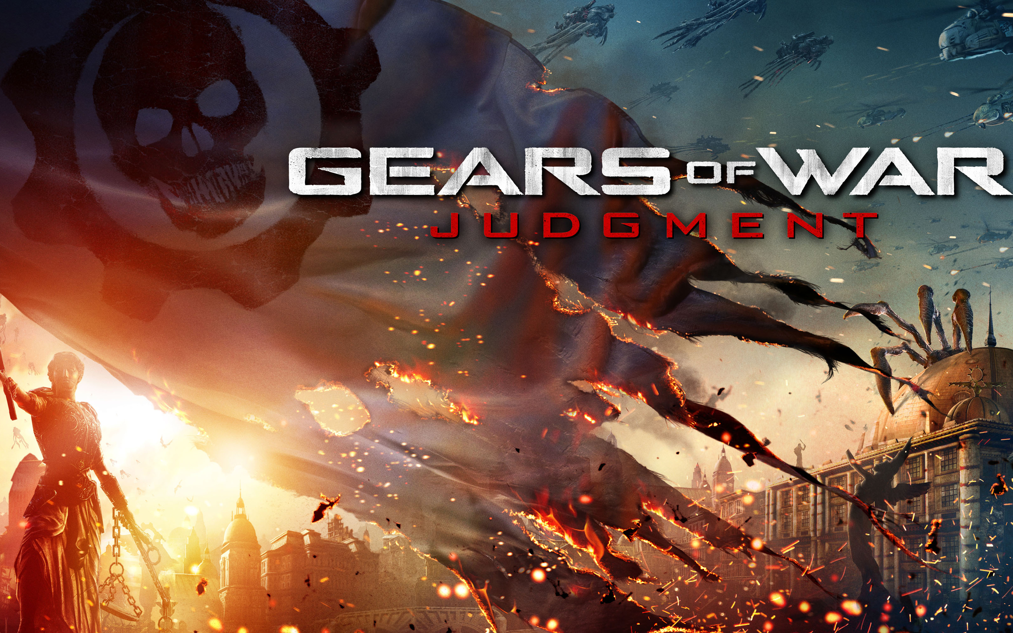 Gears of War Judgment Wallpapers HD Wallpapers 3500x2188