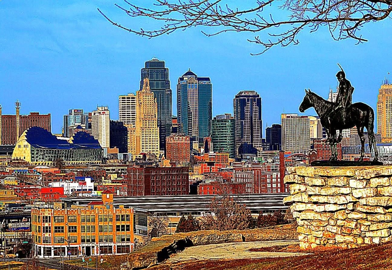 Kansas City Skyline Desktop Wallpaper Wallpaper Background 1296x895