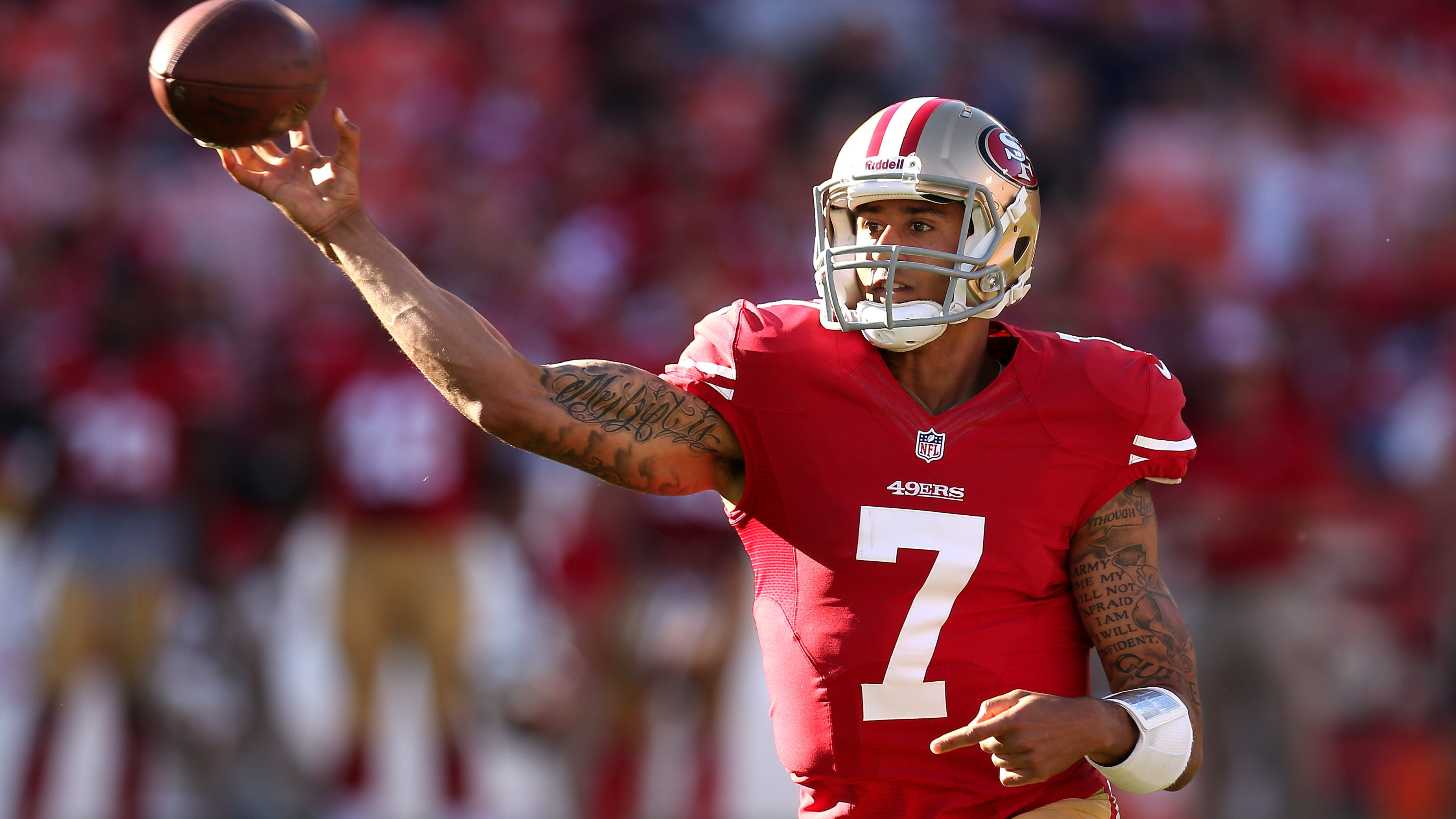 San Francisco 49ers Colin Kaepernick Wallpaper 55985 3702x2082