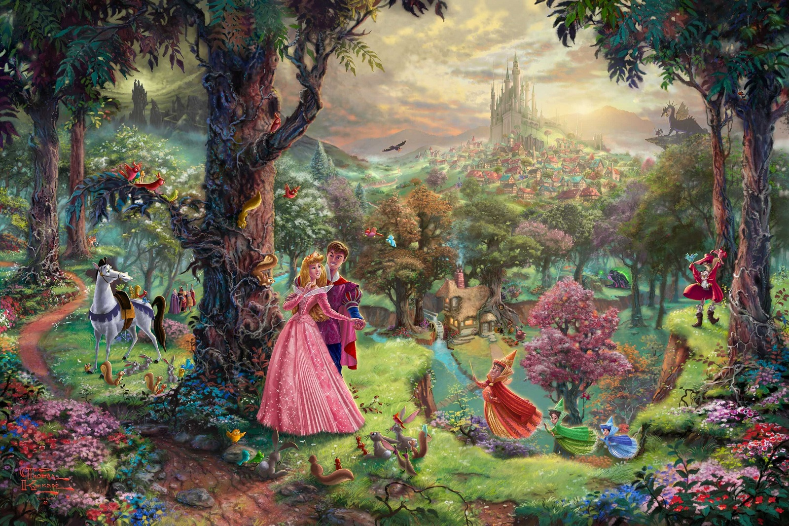 Painter Thomas Kinkade Dies at Age 54 The Disney Blog 1600x1066