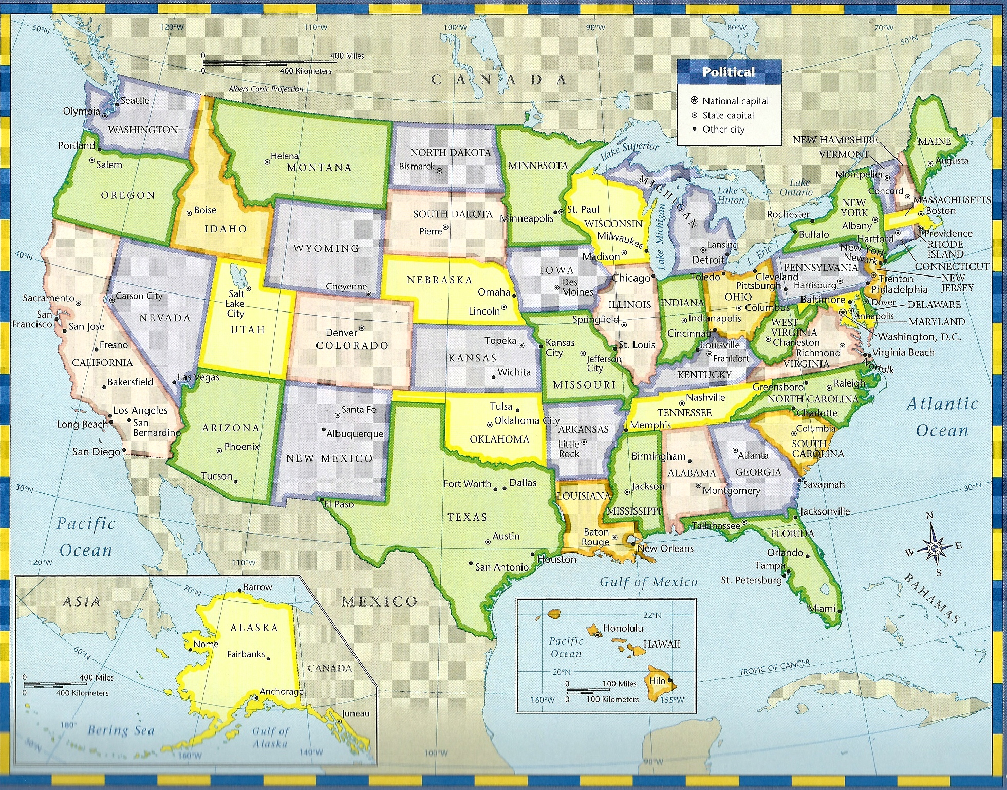 Texas Annexation Map Us History Maps From Kappa Maps United States Historical Maps