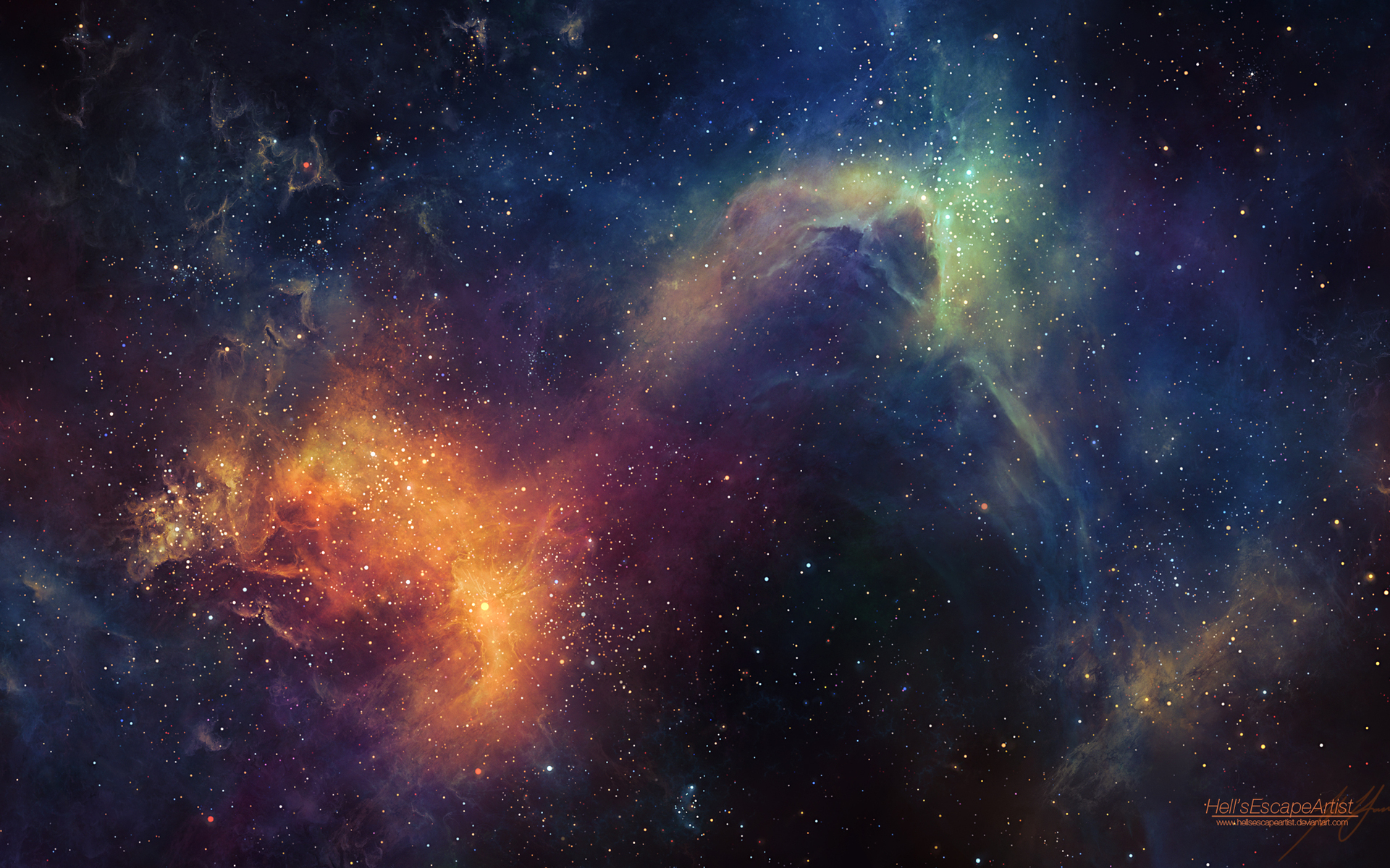 Stars and Space Desktop Backgrounds Desktop Image 1920x1200