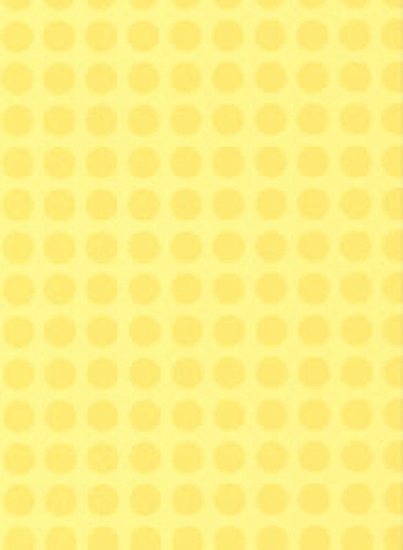 Yellow Dots Wall Paper   Wall Sticker Outlet 570x777