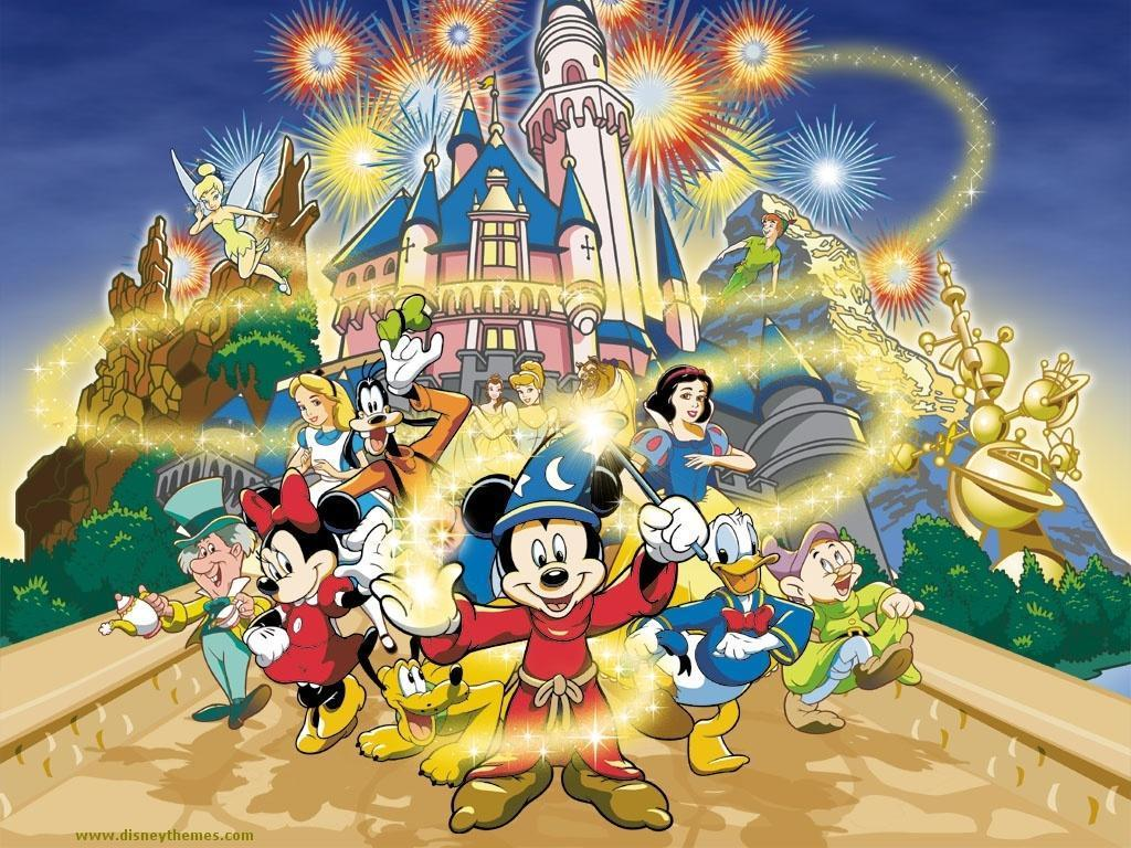 Disney Cartoon wallpaper   Classic Disney Wallpaper 14020707 1024x768