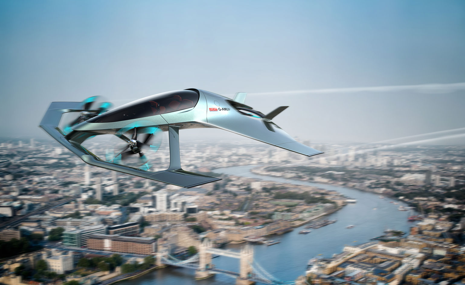Aston Martins first flying car concept revealed Wallpaper 1540x944