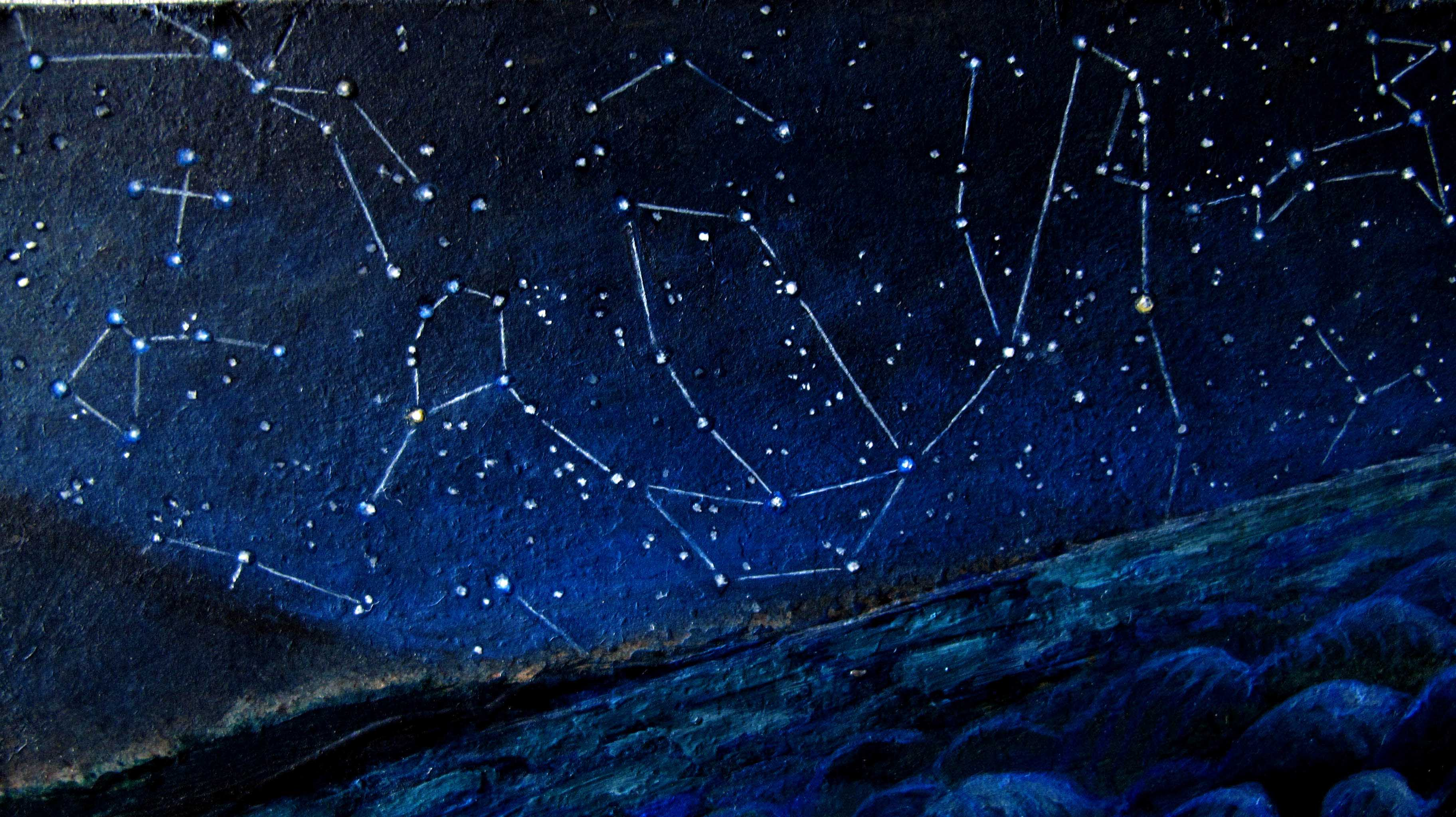 These backg round constellations are easily overlooked but if you look 3648x2048