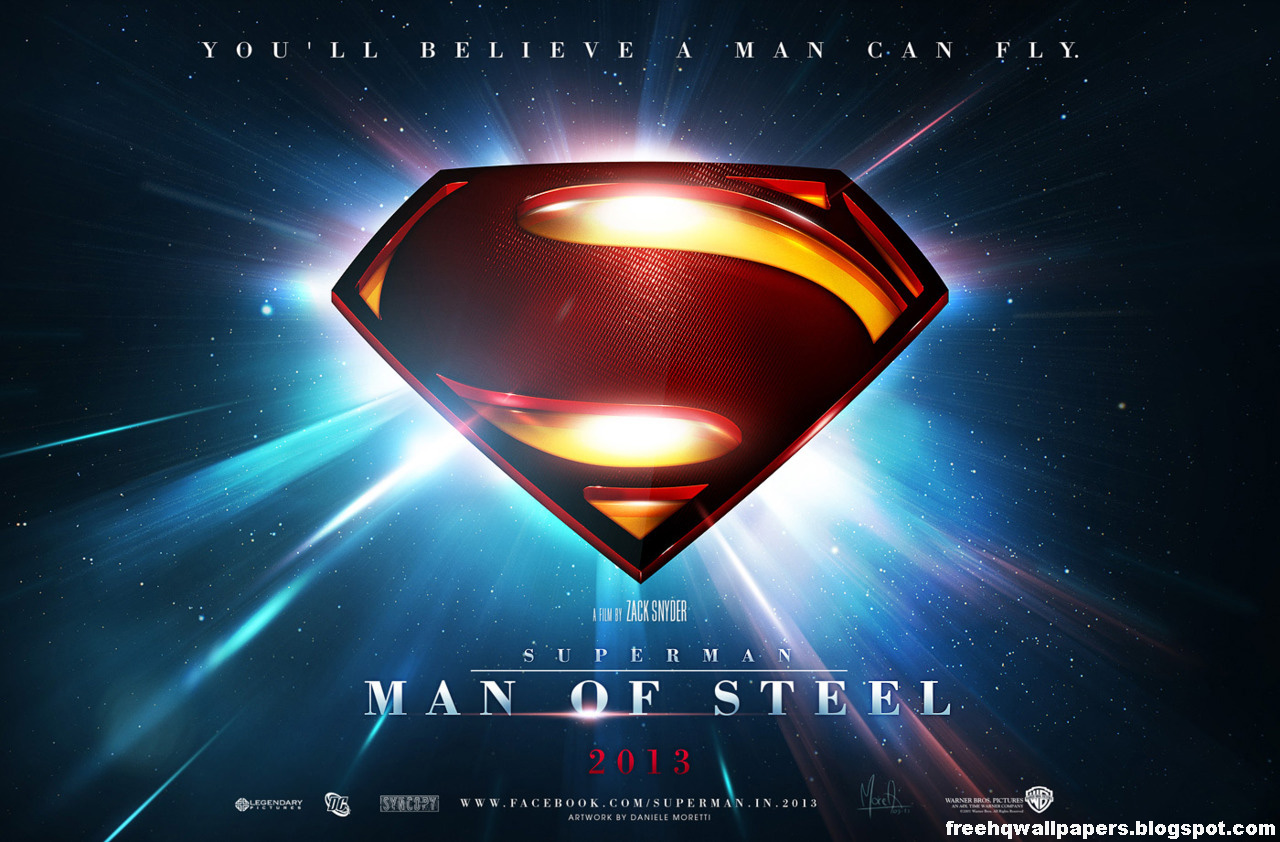 SUPERMAN MAN OF STEEL WALLPAPERS HD WALLPAPERS 1280x842