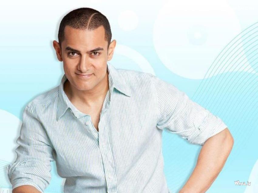 Aamir Khan Ghajini Style Blue Hd Wallpaper 850x637