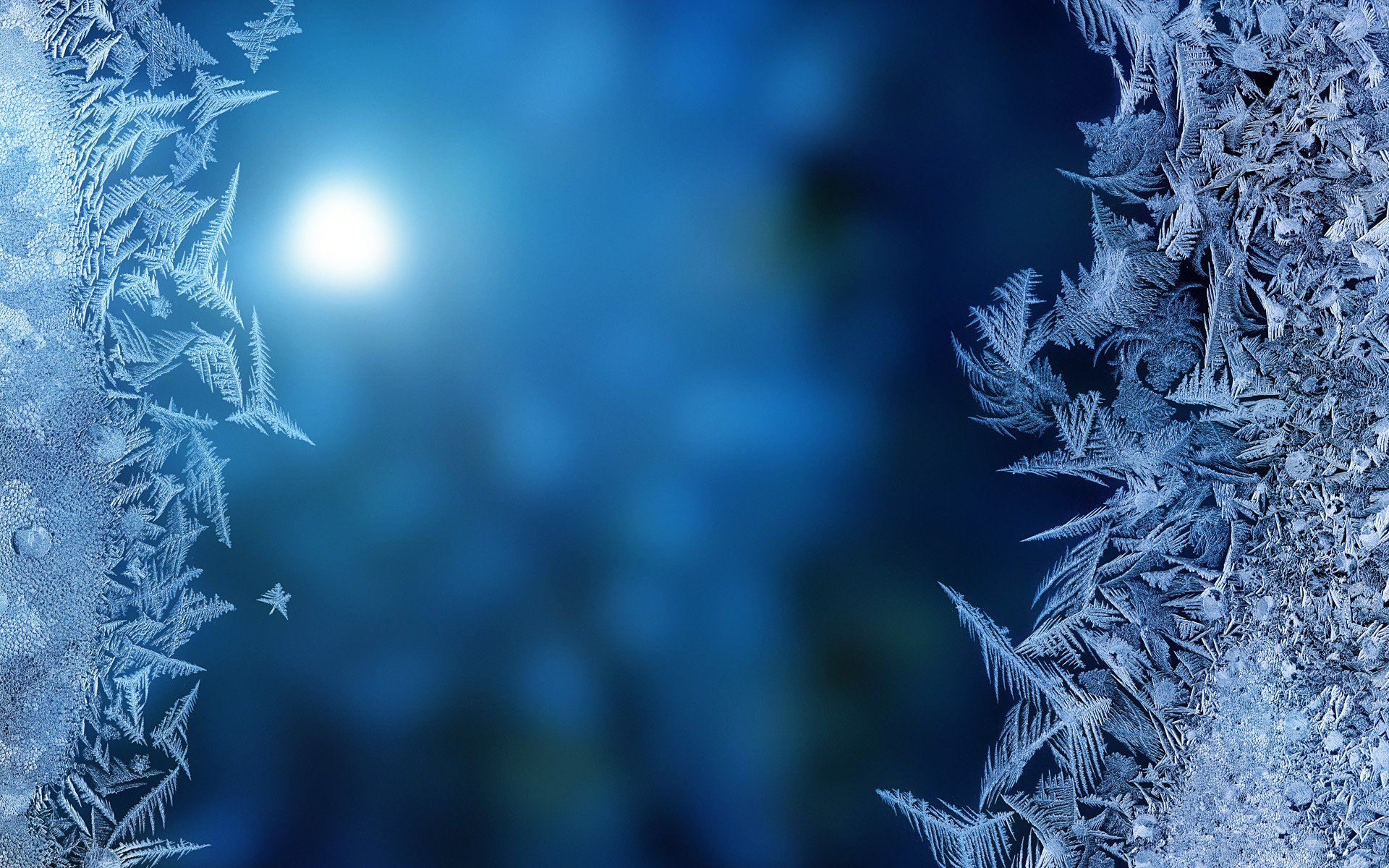Frozen window glass HD Wallpapers 1920x1200
