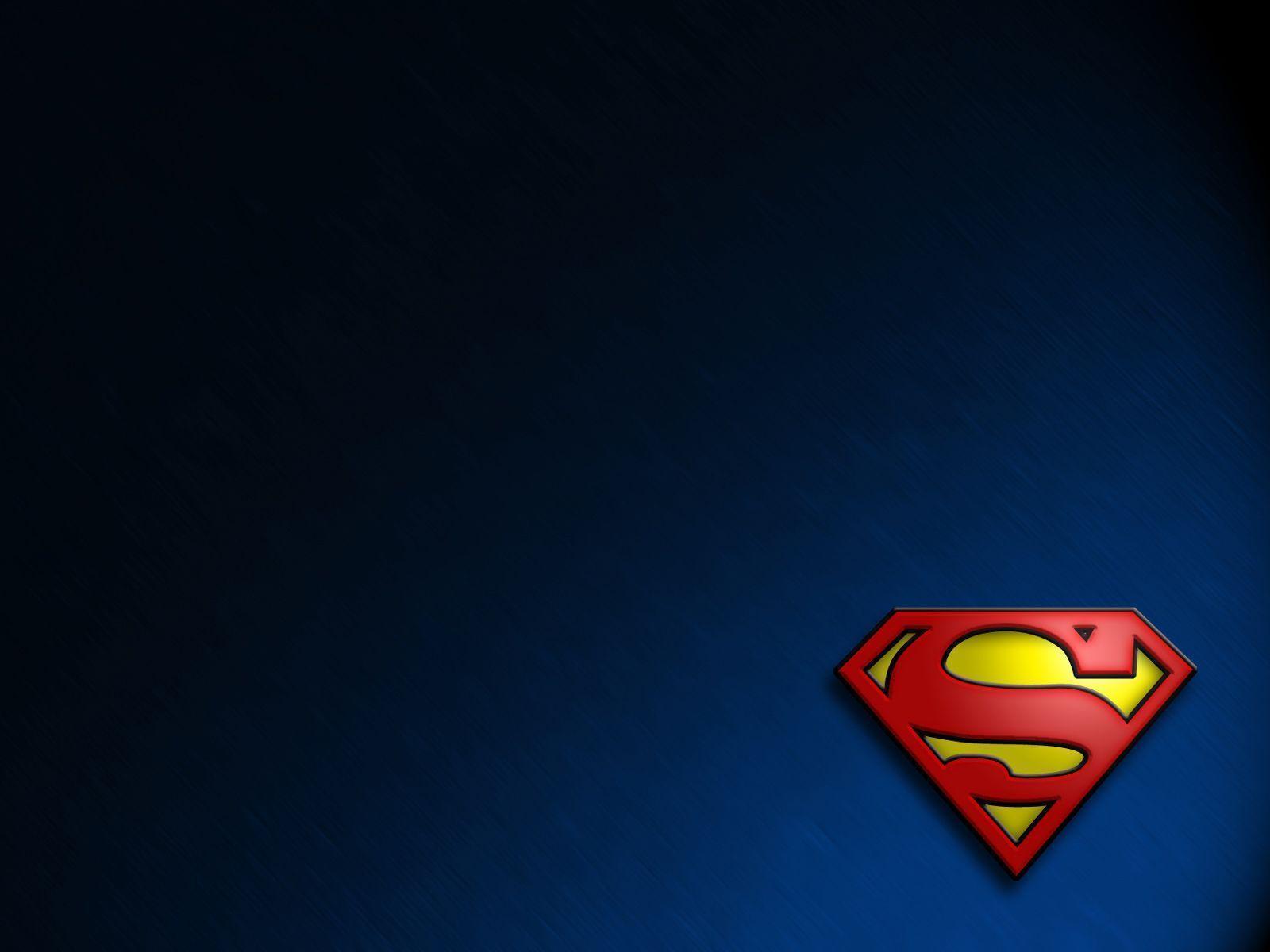 Superman Logo Wallpapers 1600x1200