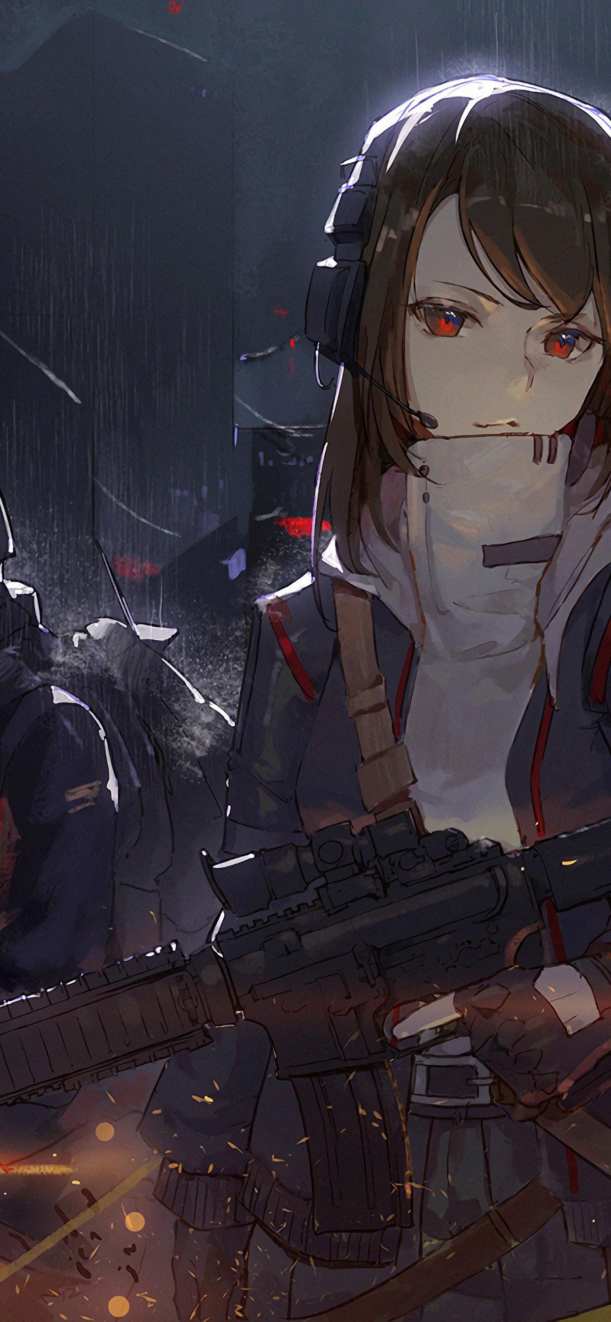 Anime Girl Soldier 4K 3840x2160 Wallpaper 19 1242x2688