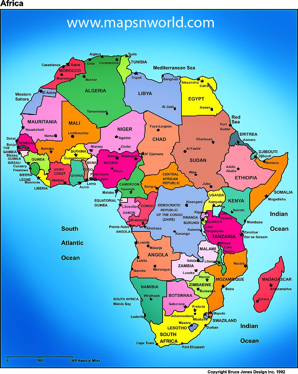 High Resolution Blank Political Map Of Africa.57 Africa Map Wallpaper On Wallpapersafari
