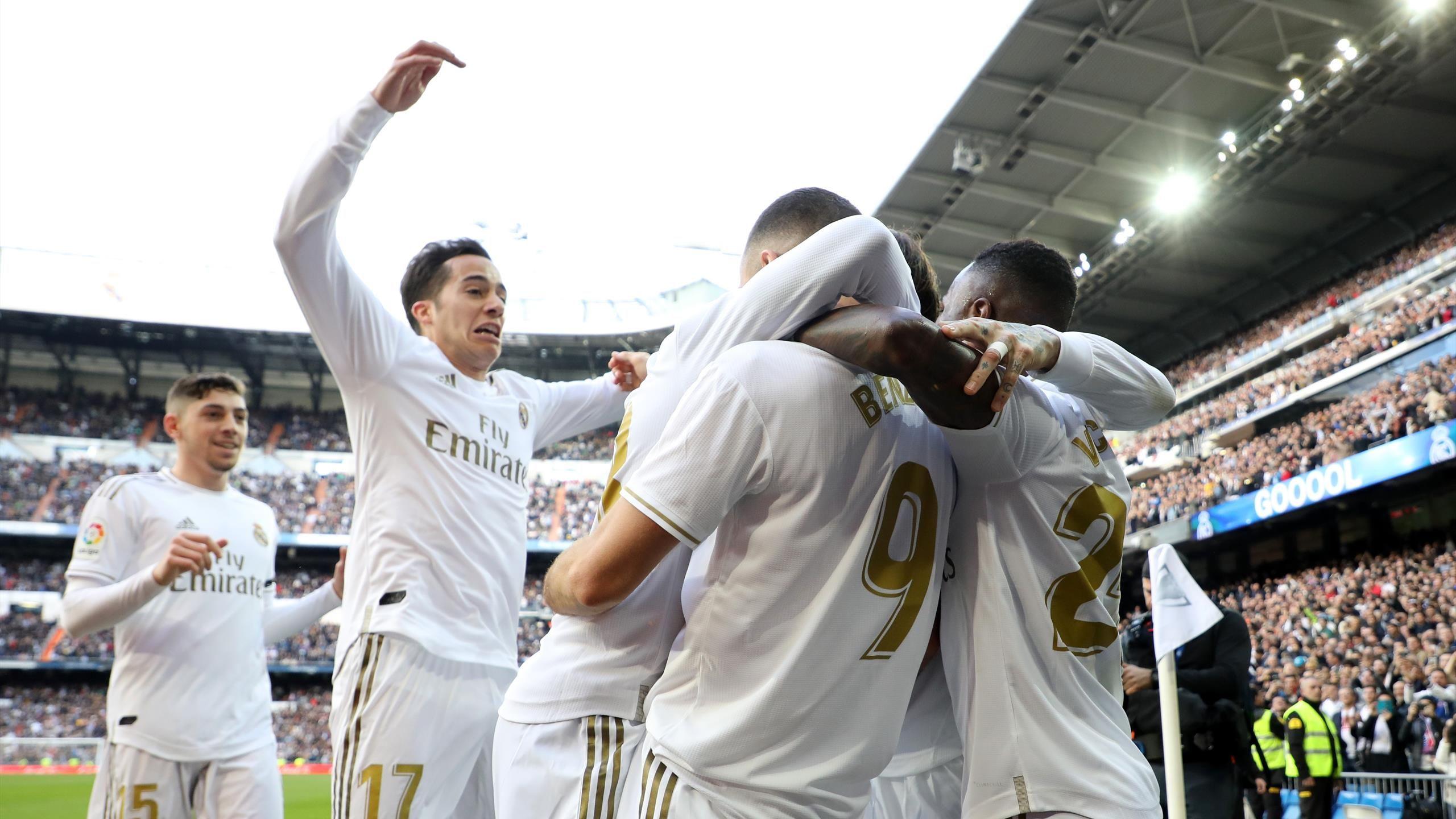 Football news   Karim Benzema strike settles Madrid derby   Liga 2560x1440