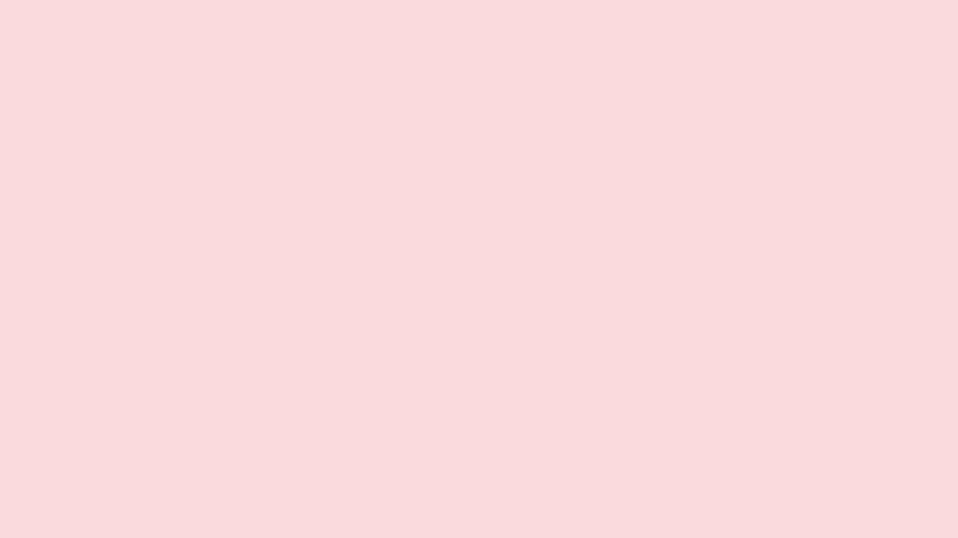 1920x1080 resolution Pale Pink solid color background view and 1920x1080