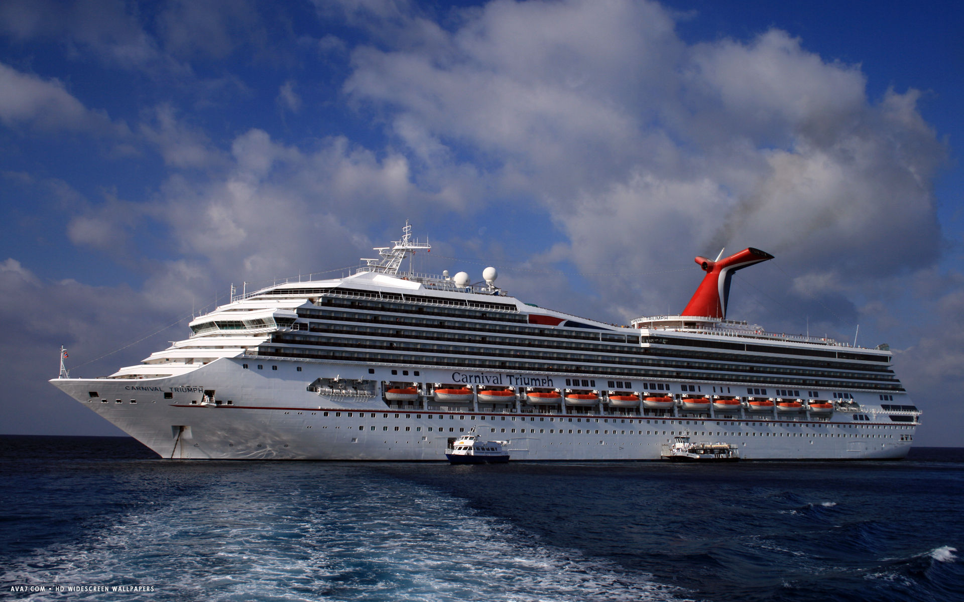 carnival triumph cruise ship hd widescreen wallpaper cruise ships 1920x1200