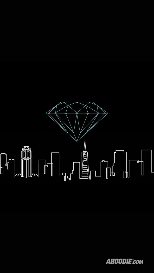 DIAMOND SUPPLY CO WALLPAPERS AHOODIEAHOODIE iPhone5 Wallpaper 640x1136