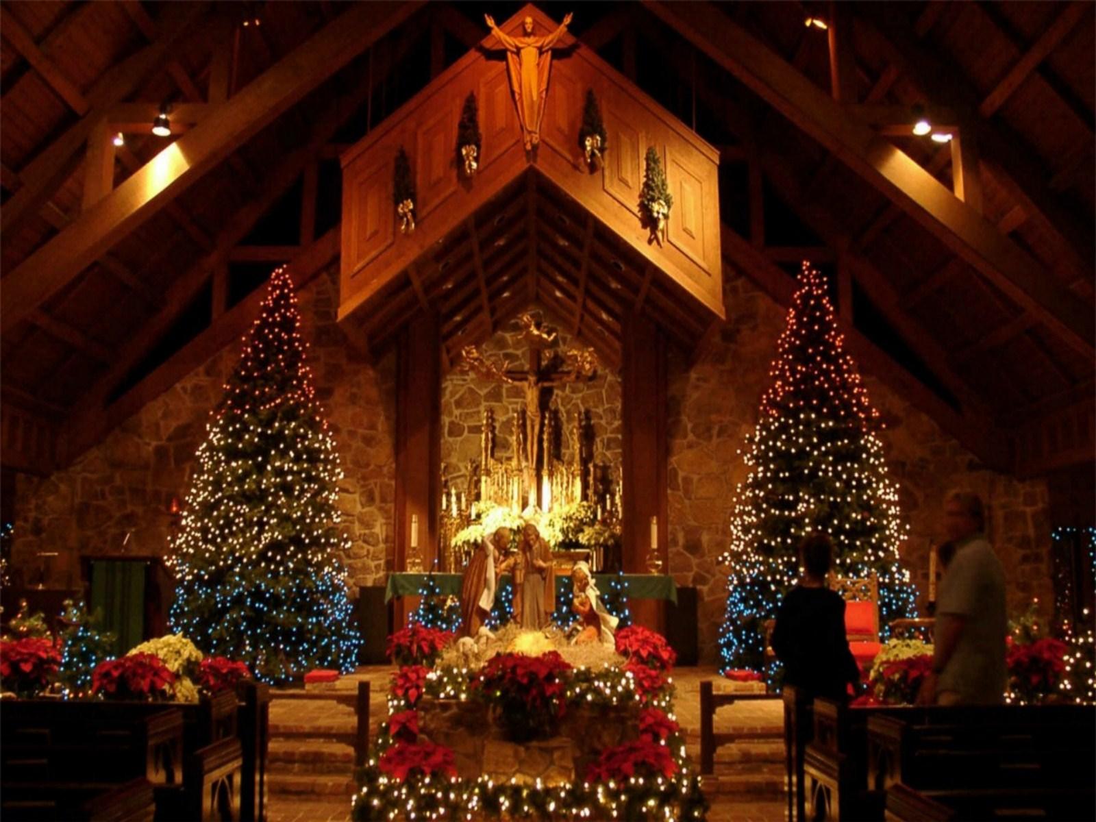Beautiful Christmas Scenes Wallpaper - WallpaperSafari