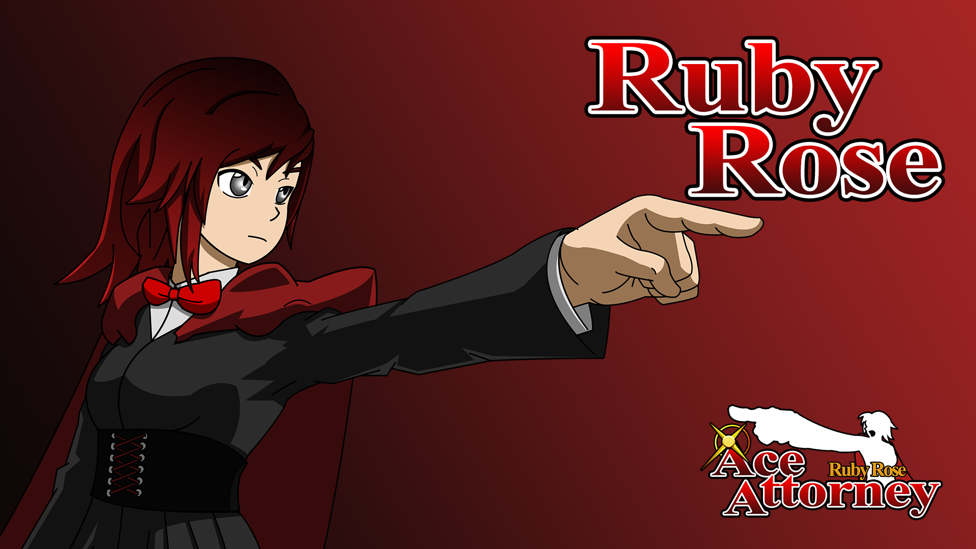 Free Download Ruby Rose Ace Attorney Ruby Wallpaper By Iceninjax77 On 1920x1080 For Your Desktop Mobile Tablet Explore 74 Ace Attorney Wallpaper Phoenix Wright Wallpaper Phoenix Wright Ace Attorney