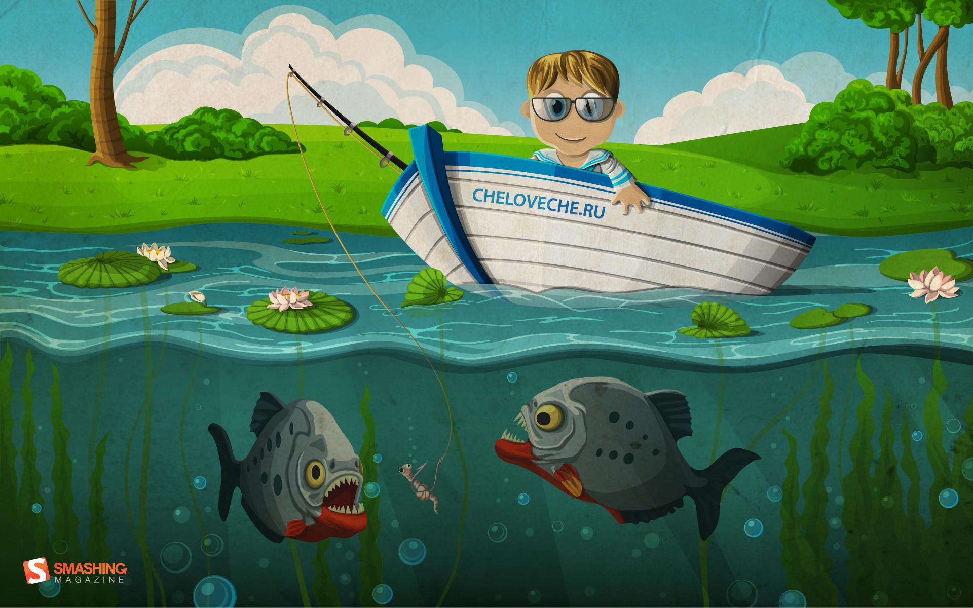 Bass Fishing Desktop Backgrounds 1920x1200
