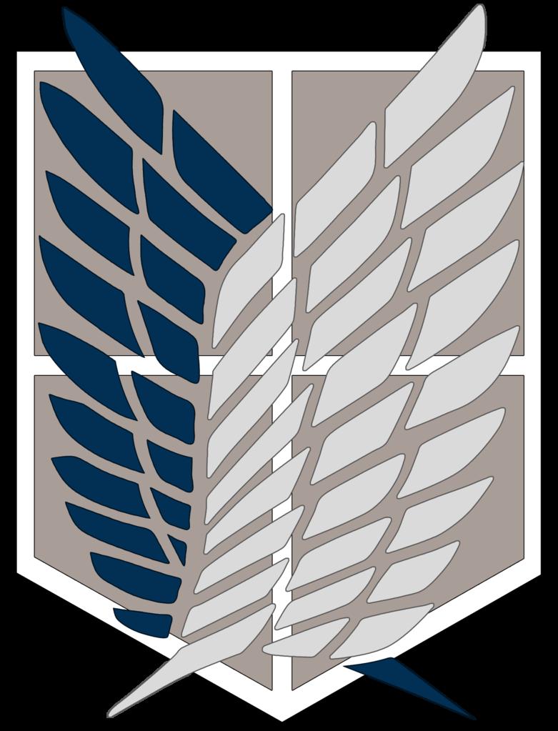 Attack On Titan [Survey Corps Logo] by YumaKirosaki 781x1023