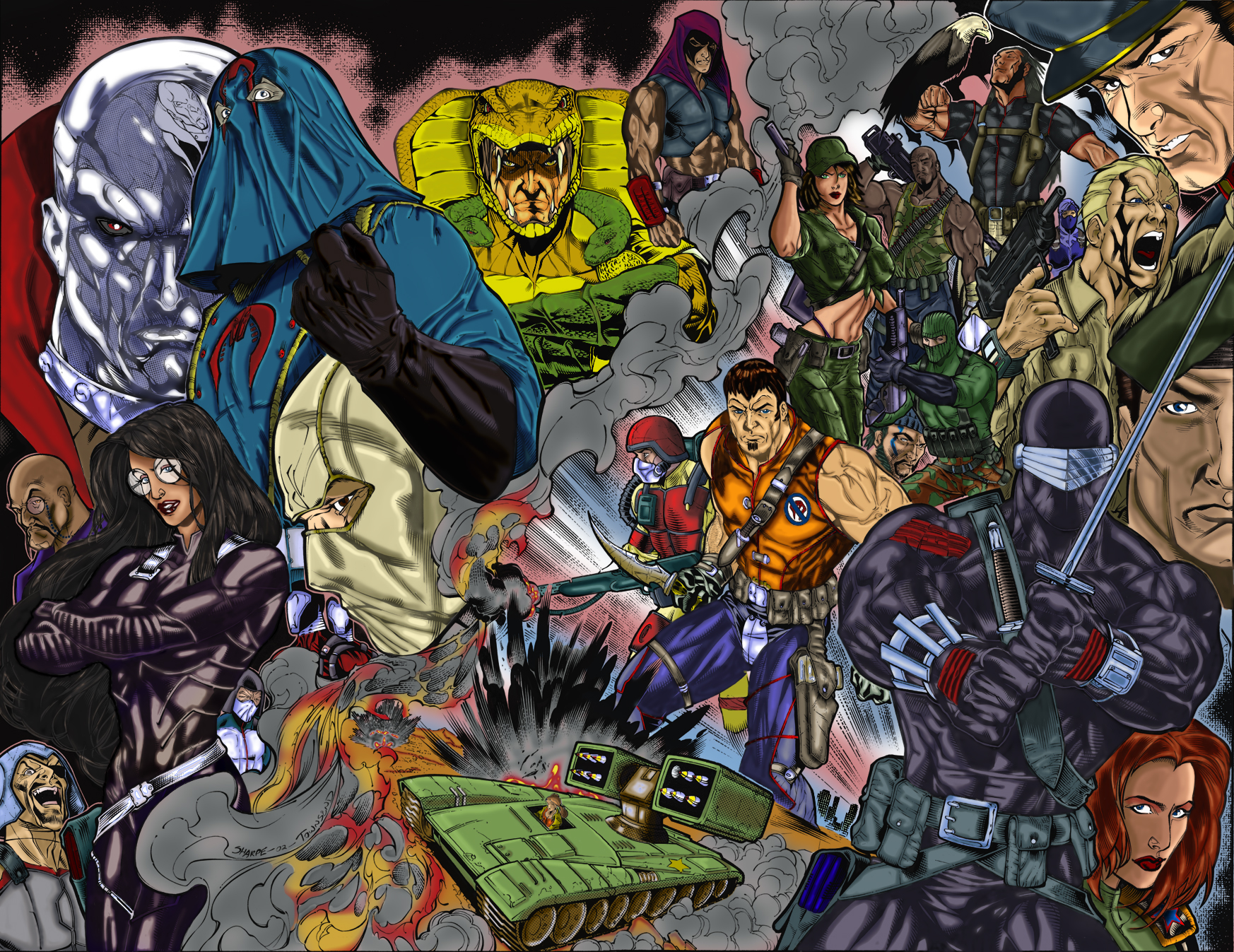 39] Classic GI Joe Wallpaper on WallpaperSafari 1746x1347