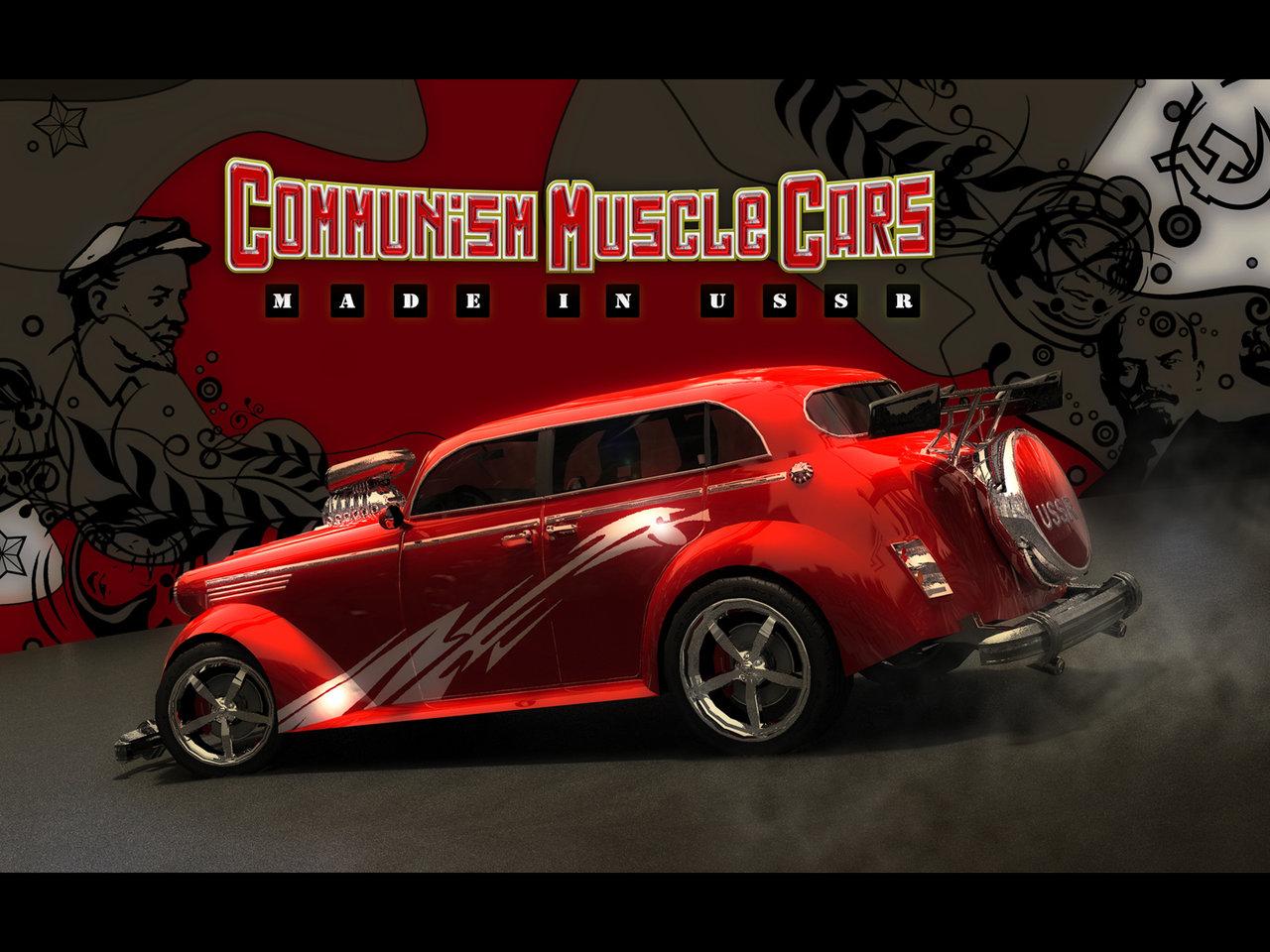 desktop wallpapers Communism Muscle Cars 1280x960