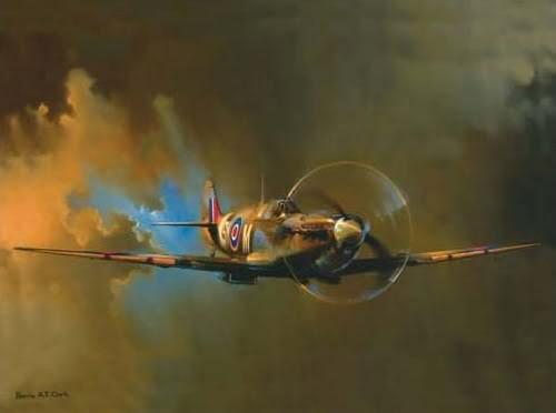 Spitfire Wallpapers Art Print Paintings Spitfire Desktop Wallpapers 500x372