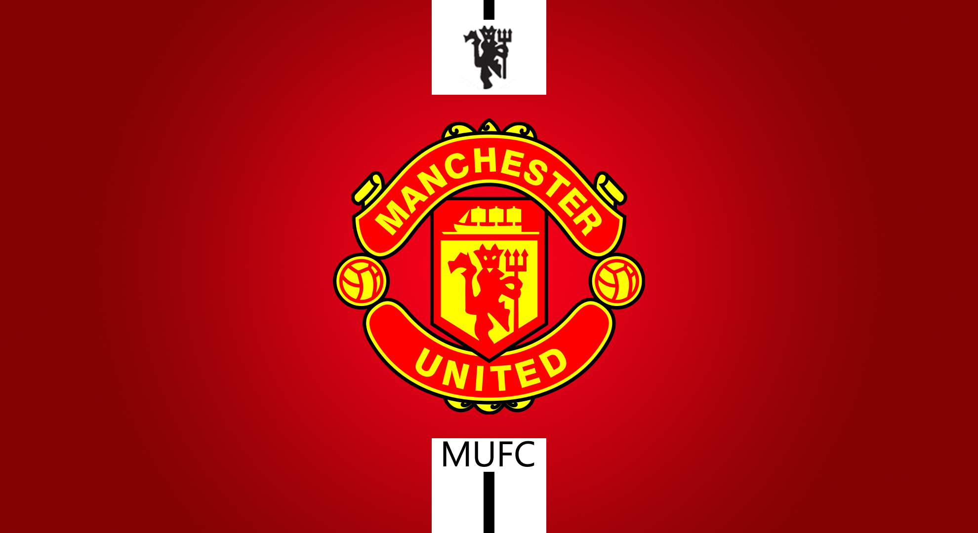 Free Download Manchester United Logo Large Images 1980x1080