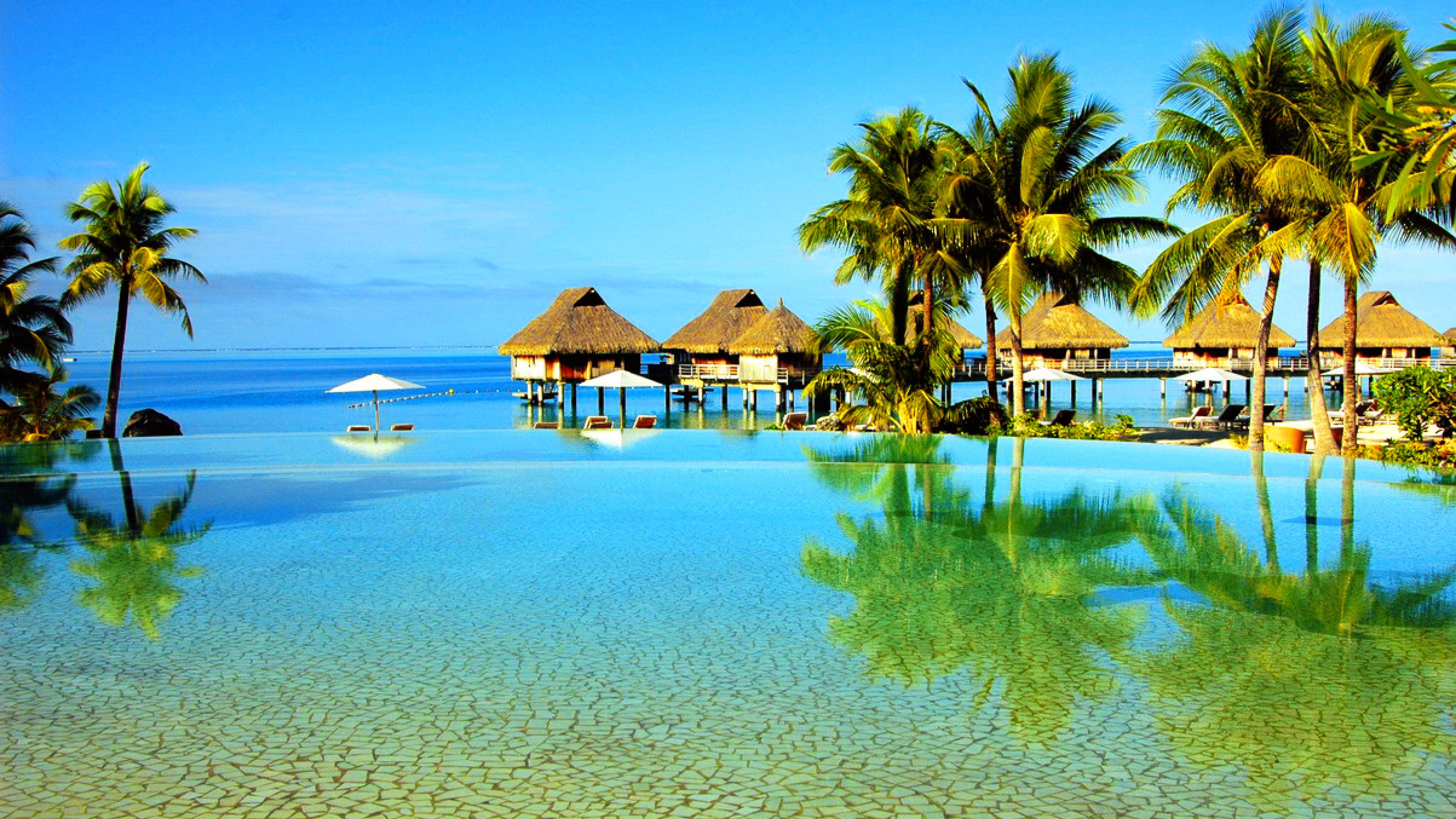 Exotic Beach Wallpaper Awesome Images utr752lt Yoanu 3840x2160