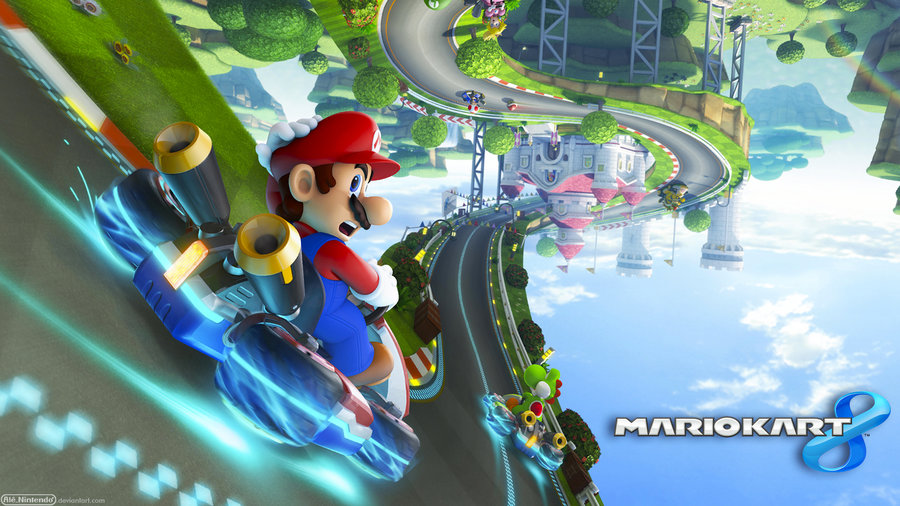 mario kart 8 wallpaper hd wallpapersafari