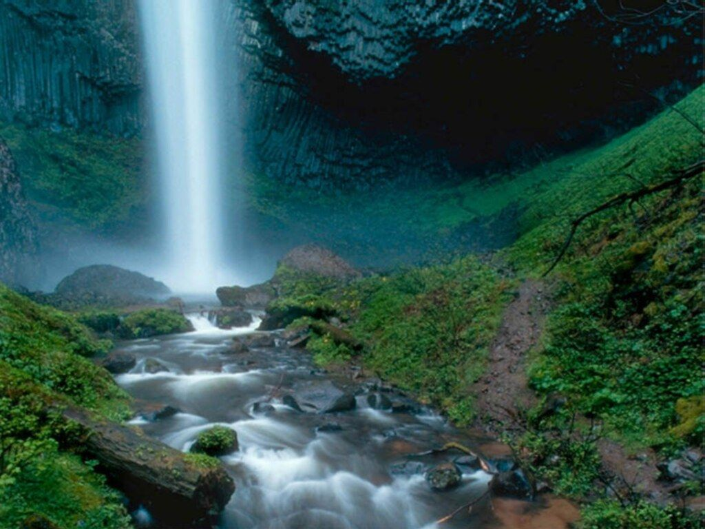Waterfalls Wallpapers Waterfall Wallpaper Desktop 1024x768