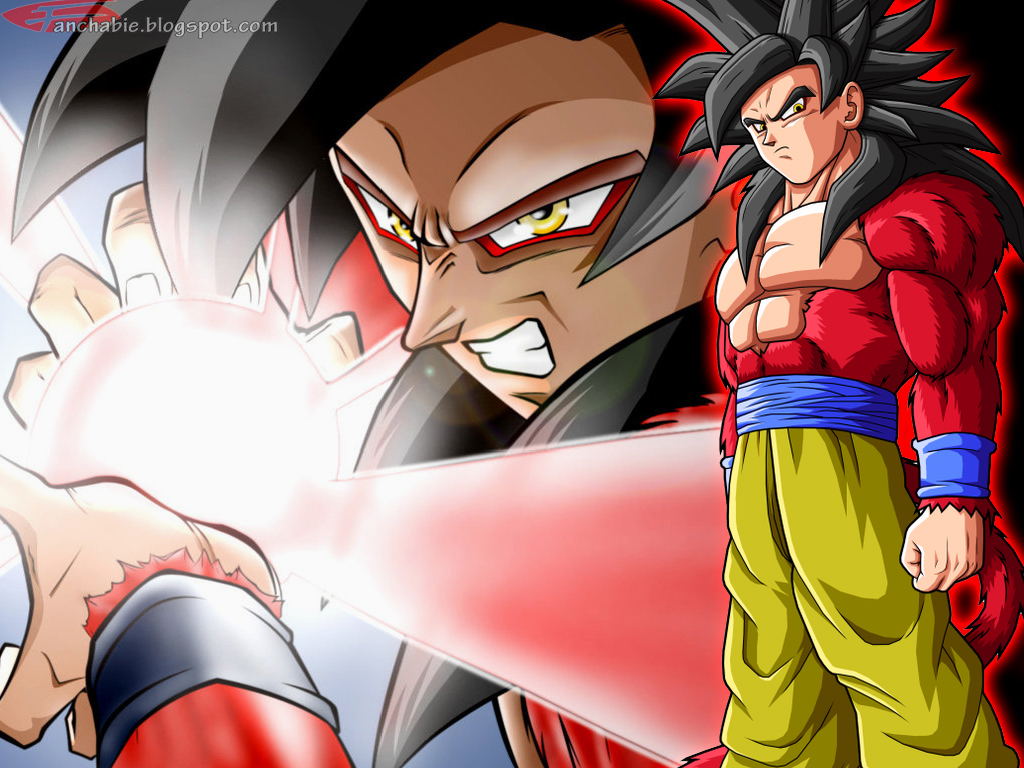 Goku Super Saiyan 4 Wallpaper Desktop HD Part II Best Wallpaper 1024x768