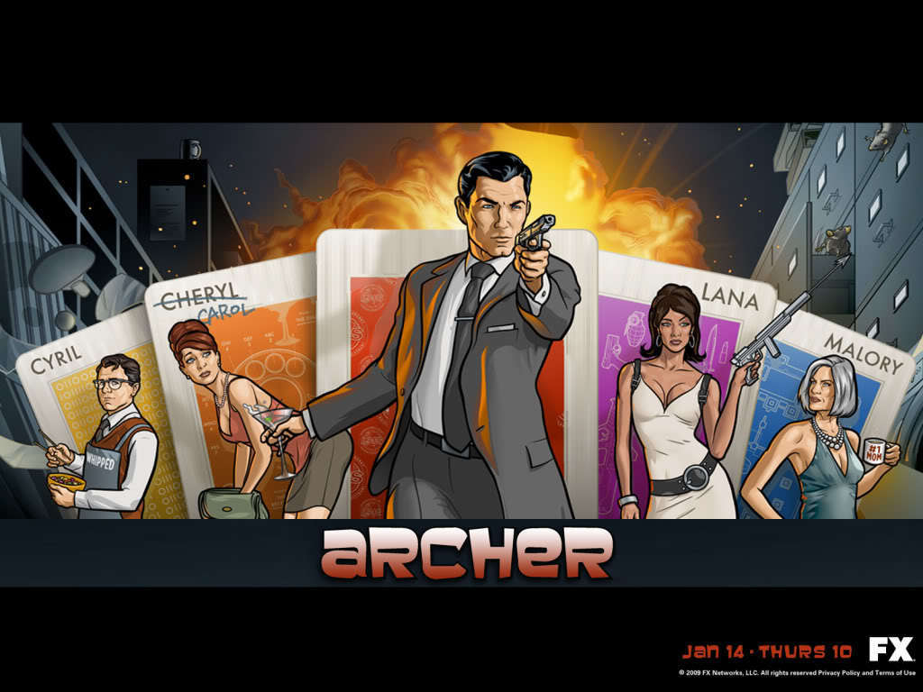 Archer Wallpaper   Archer Wallpaper 16612072 fanclubs 1024x768