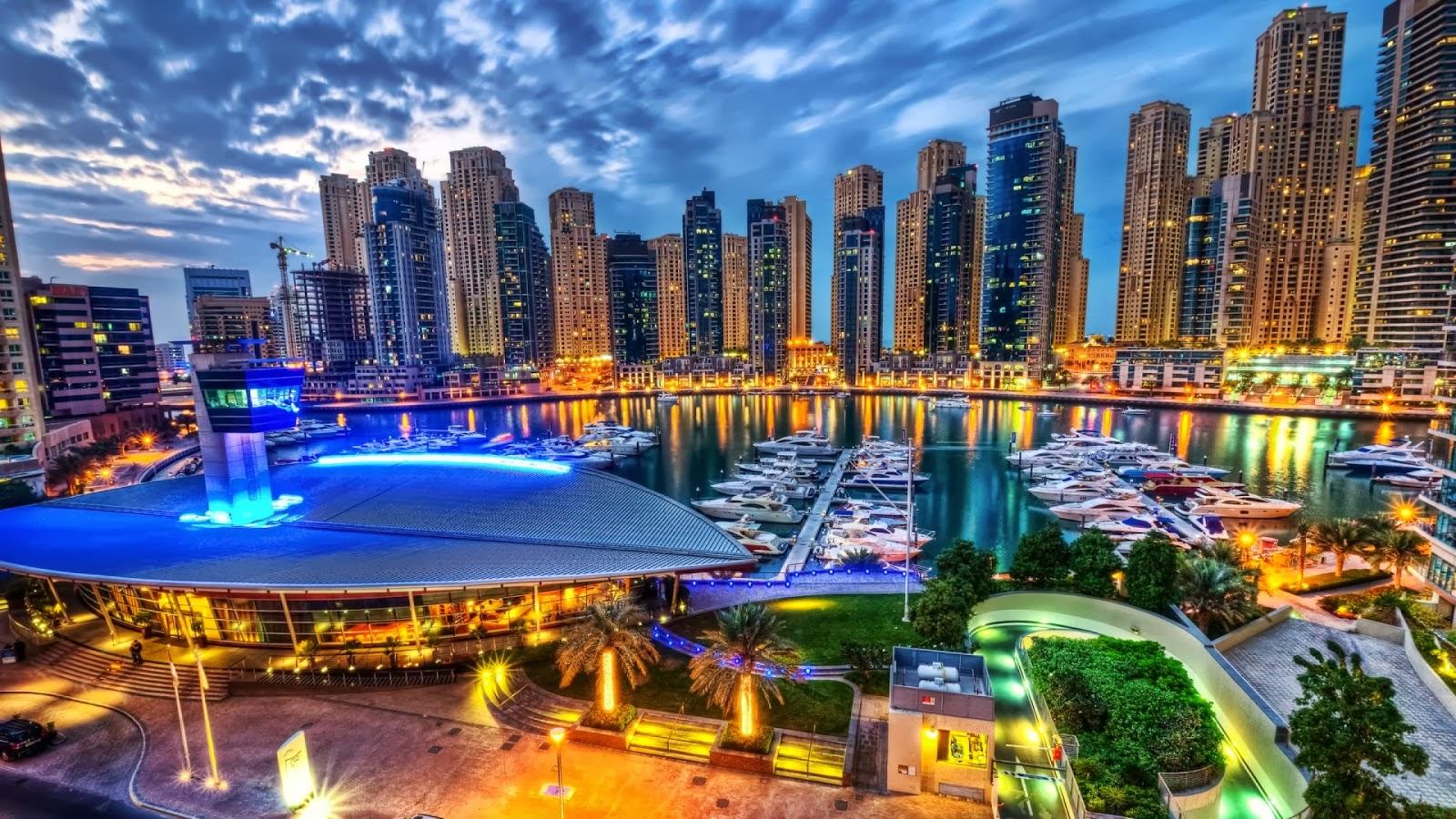 building hd wallpapers 1080p: Dubai Wallpaper HD