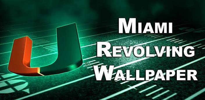 Miami Hurricanes Football Logo Wallpaper Miami revolving wallpaper 705x345