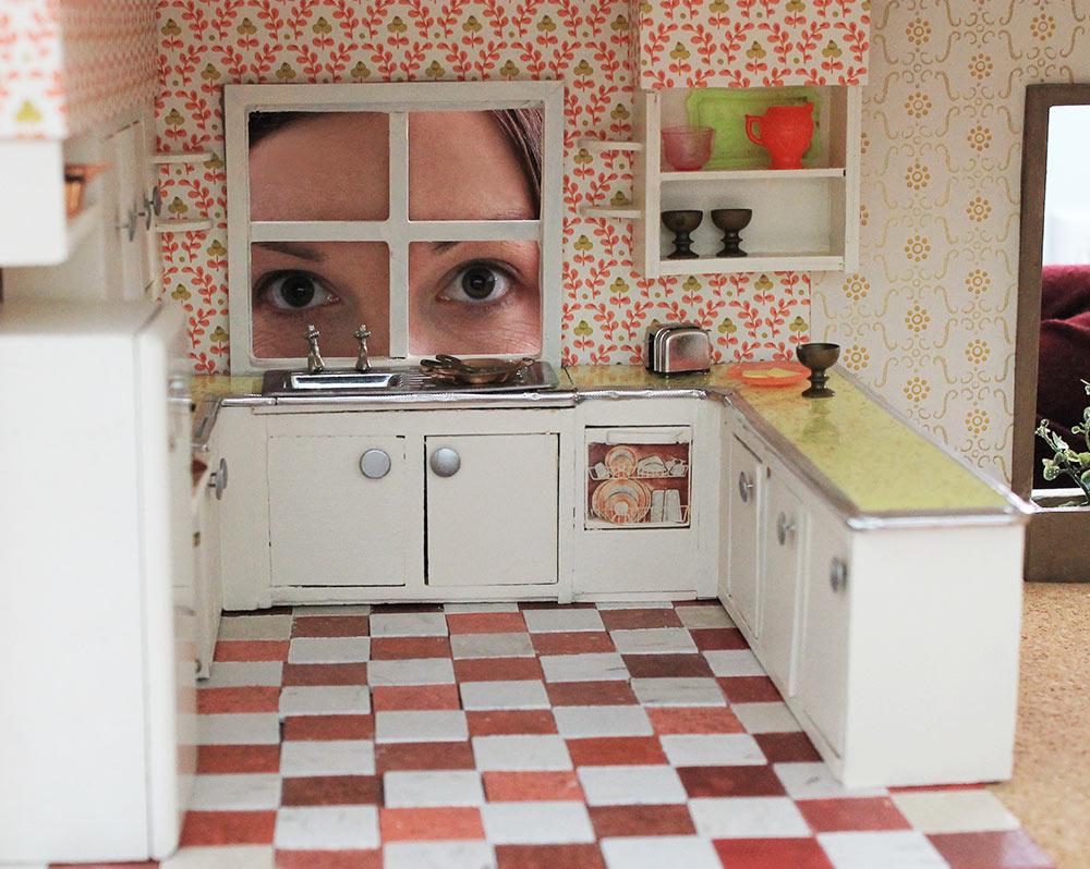 DIY Dollhouse Wallpaper - WallpaperSafari