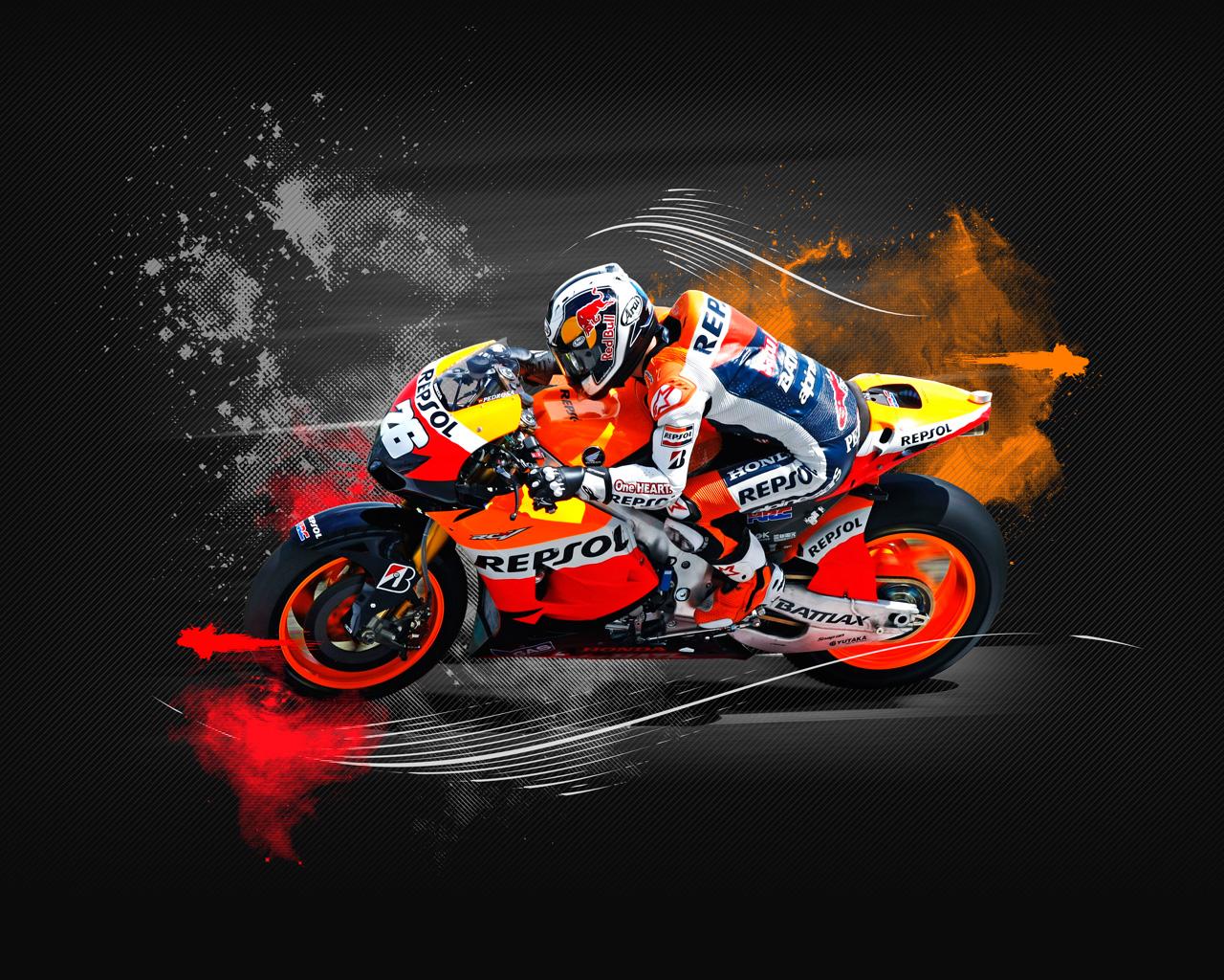 wallpapers hd for mac Dani Pedrosa MotoGp Wallpaper HD 1280x1024