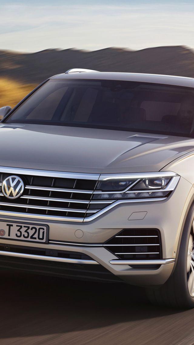 Wallpaper Volkswagen Touareg 2019 Cars SUV 4K Cars Bikes 18128 640x1138