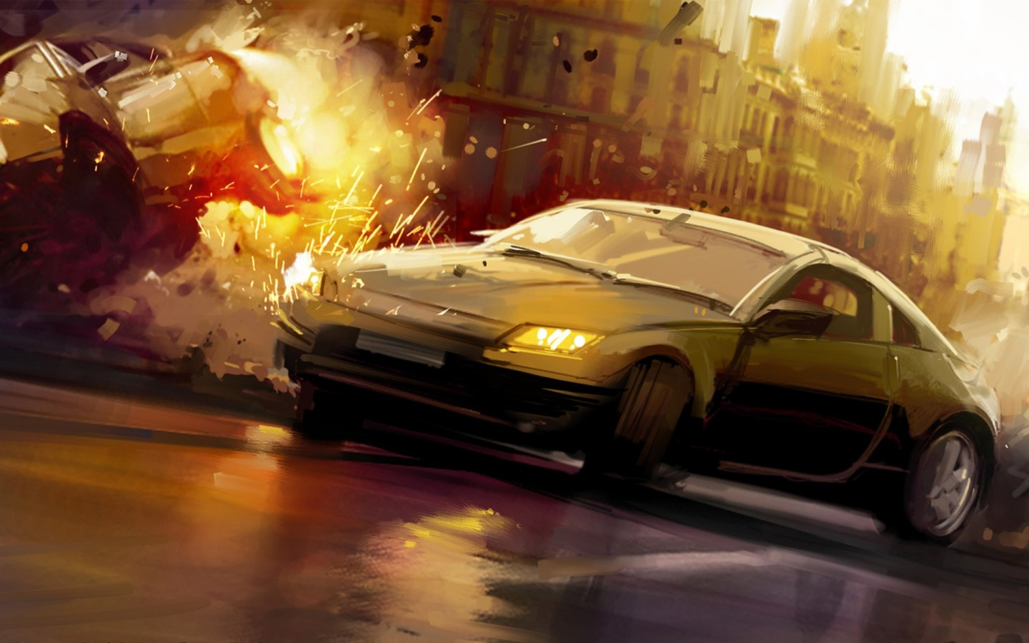 Amazing Photos Amazing Car Crash Wallpapers 1440x900