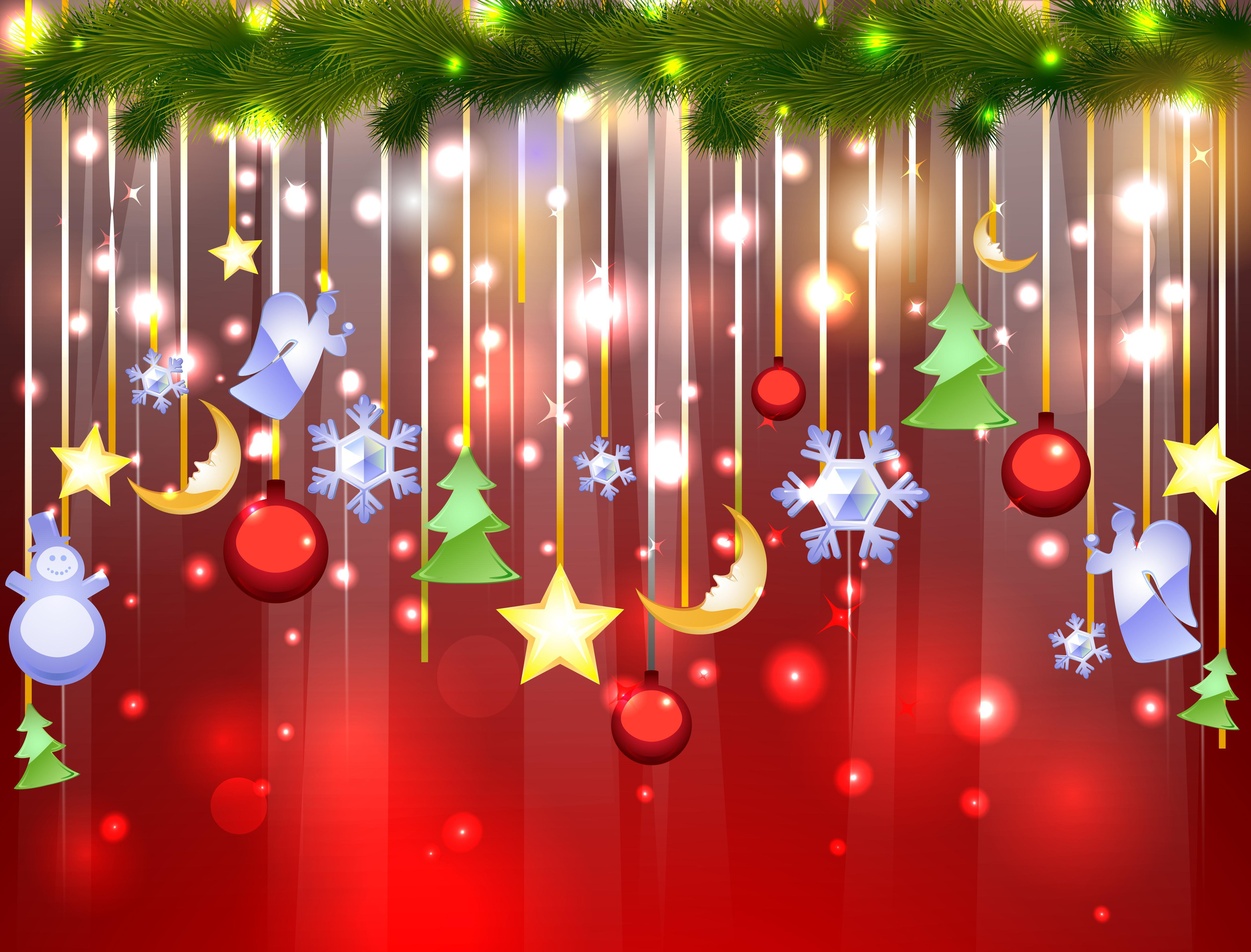 Christmas theme Desktop wallpapers 1600x1200 4984x3794