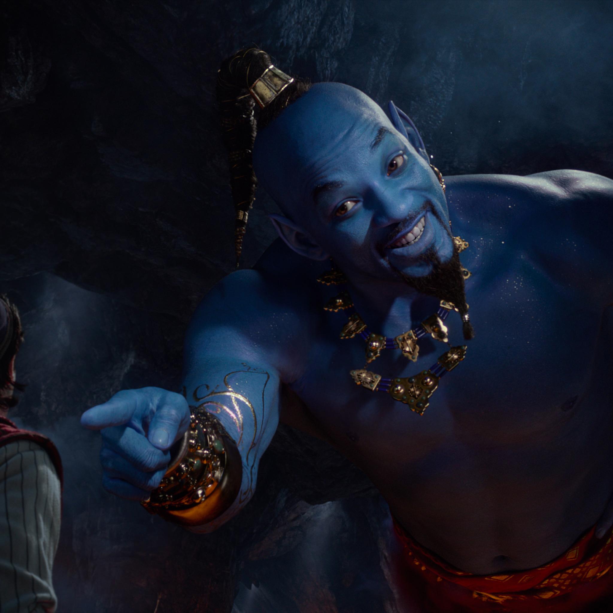 2048x2048 Will Smith as Genie In Aladdin Movie 2019 Ipad Air 2048x2048