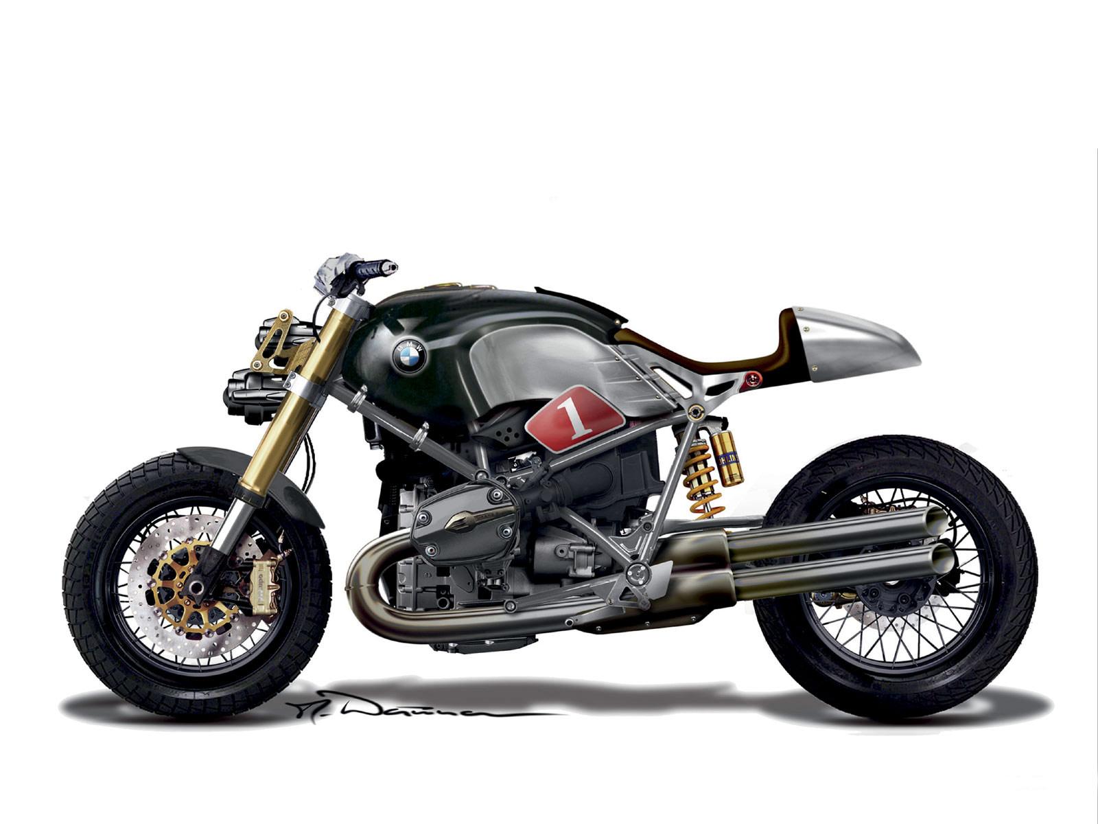 2009 BMW Lo Rider Motorcycle Desktop Wallpaper specifications 1600x1200