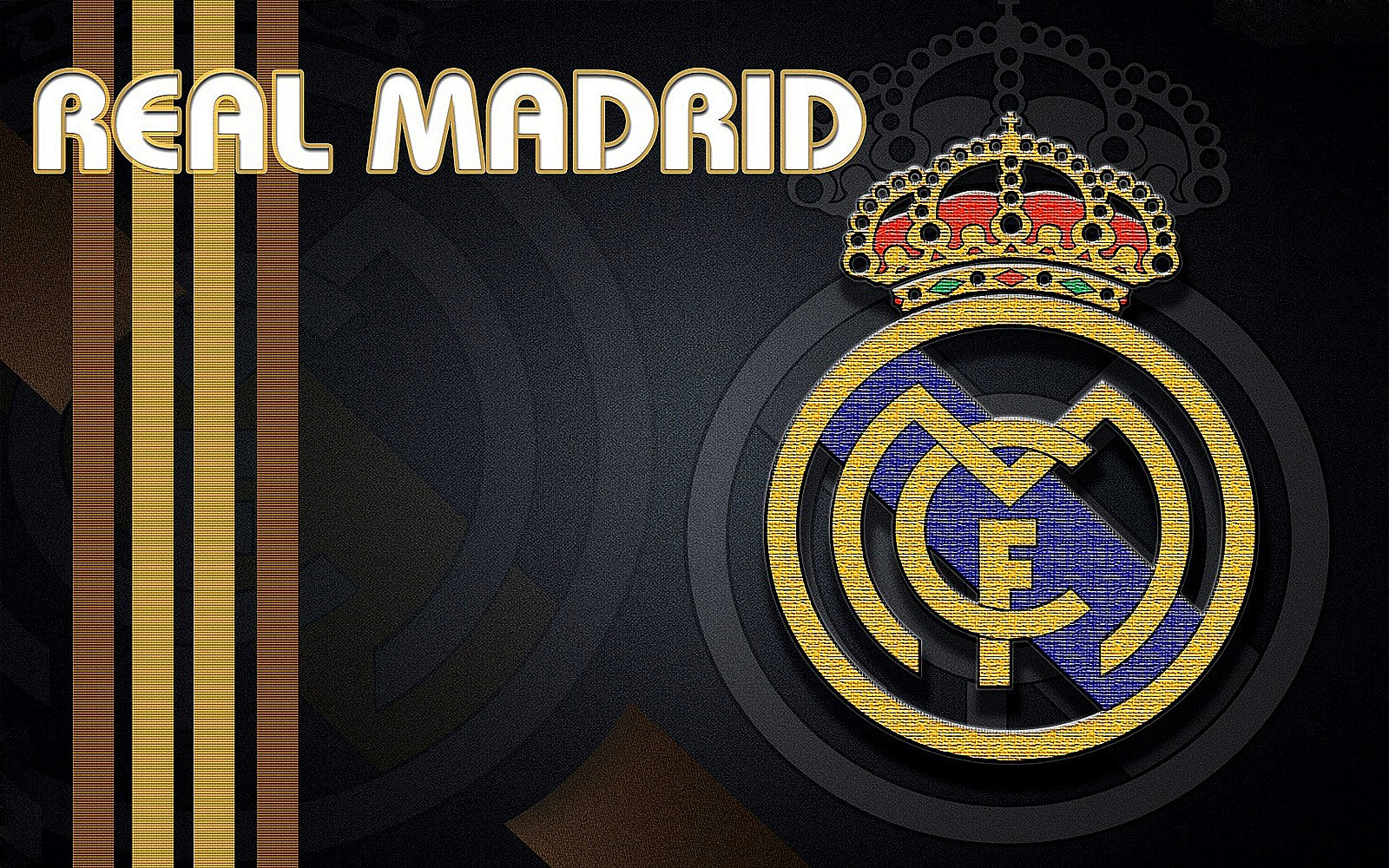 Real Madrid Logo Walpapers HD Collection 1600x1000