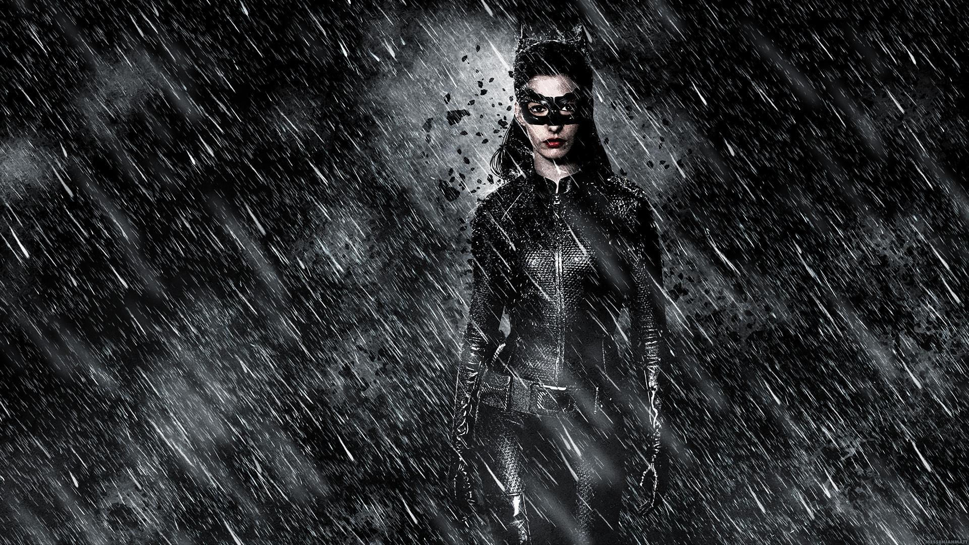 DARK KNIGHT RISES batman superhero catwoman rain wallpaper 1920x1080 1920x1080