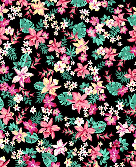Tropical Print Wallpaper Print Tropical Wallpaper 524x640