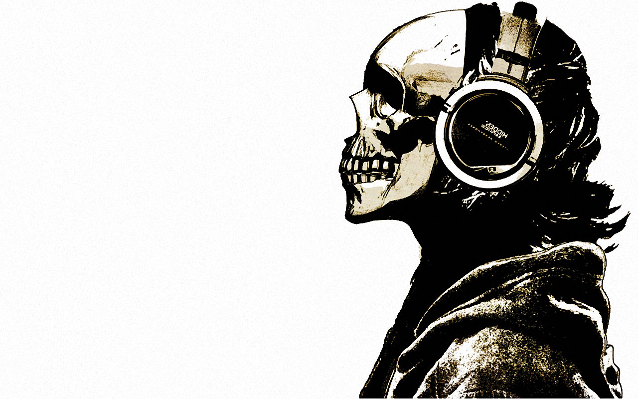 Blogs Photography Skull HD Wallpapers 1280x800