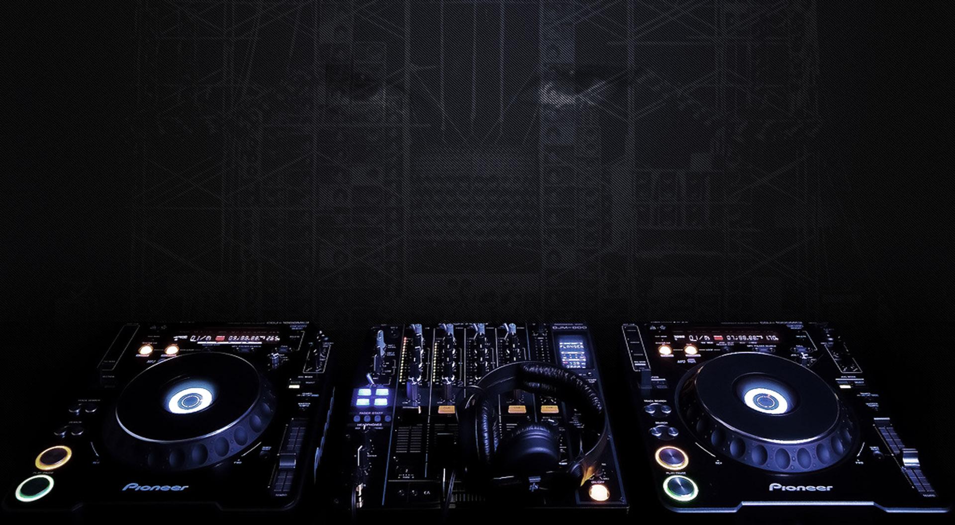 Theme Bin Blog Archive Turntable DJ Remix HD Wallpaper 1920x1056
