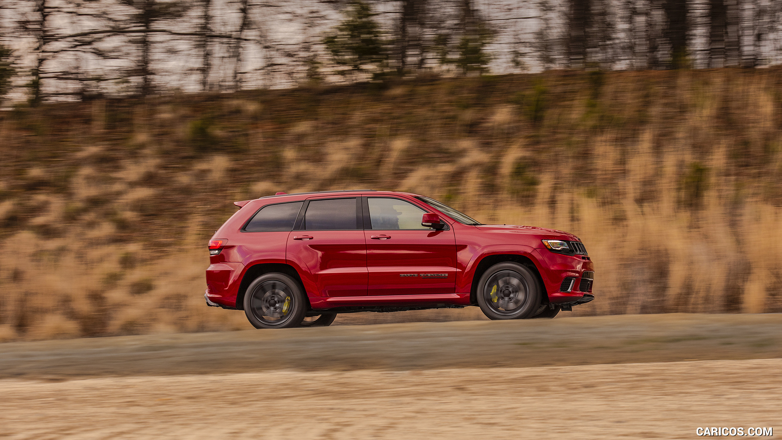 2018 Jeep Grand Cherokee Supercharged Trackhawk   Side HD 2560x1440