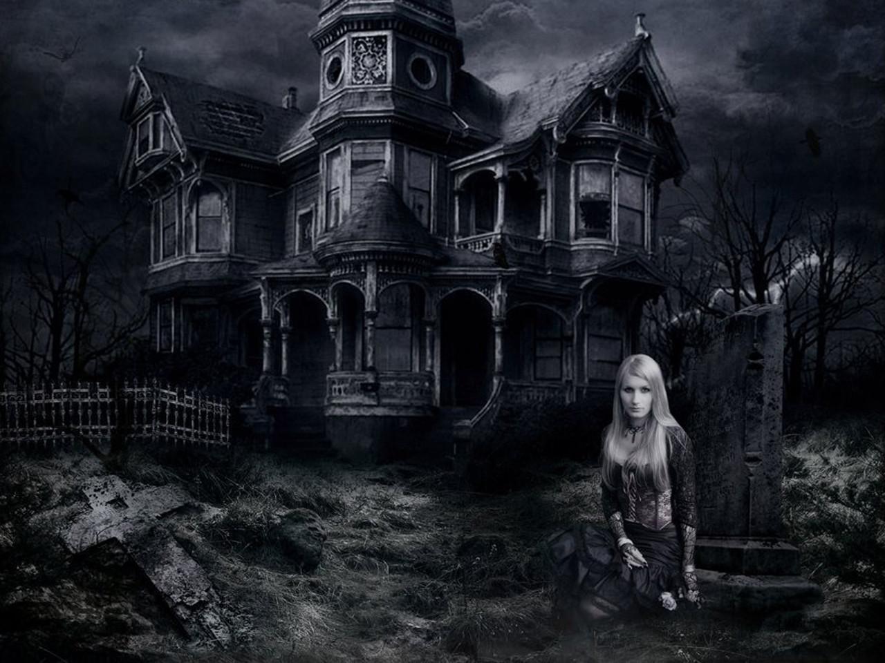 Haunted House Desktop Wallpapers 1280x960