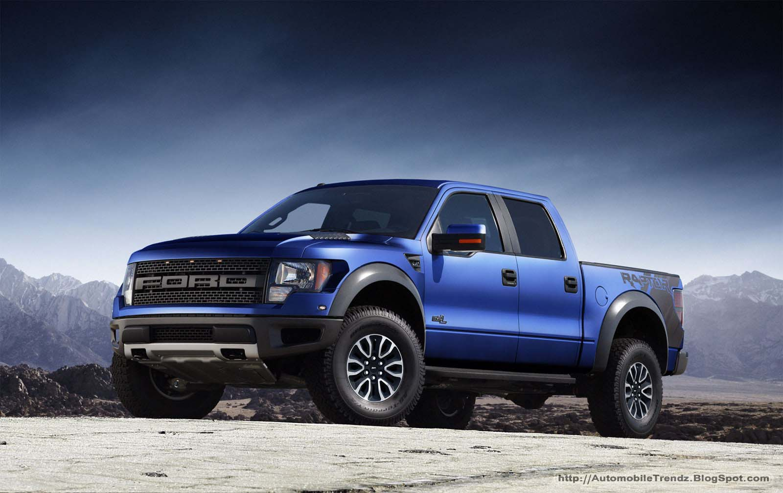 Automobile Trendz Ford Raptor Wallpaper 1600x1007